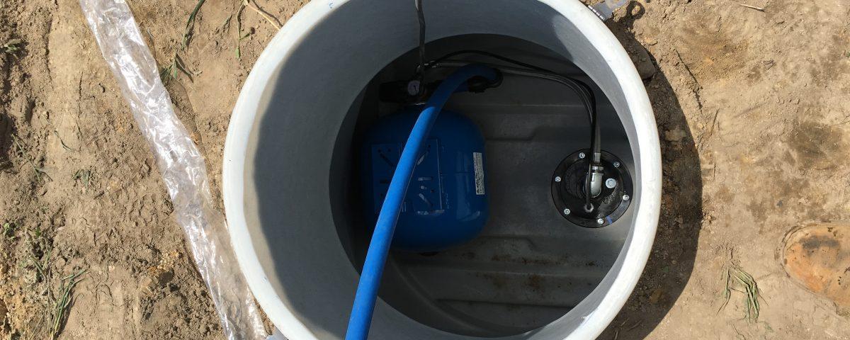 Wykonanie studni głębinowej
